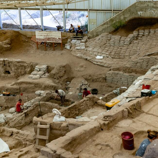 Ausgrabungsstätte