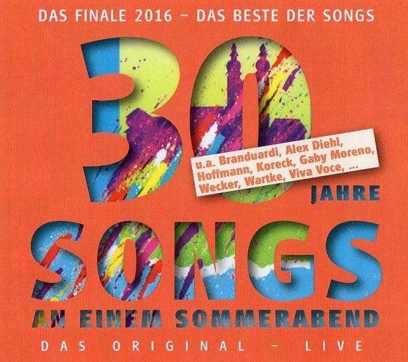 30 Jahre Songs an einem Sommerabend
