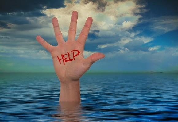 Ruf nach Hilfe