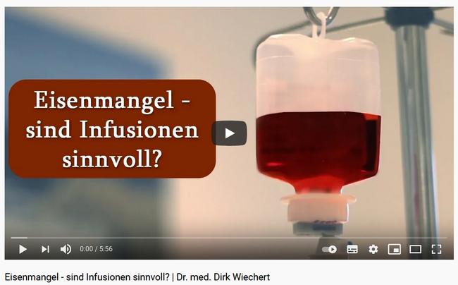 Eiseninfusion - wie geht der Körper mit Eisen um?