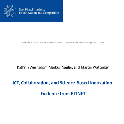 ICT, Collaboration, and Science-Based Innovation: Evidence from Bitnet