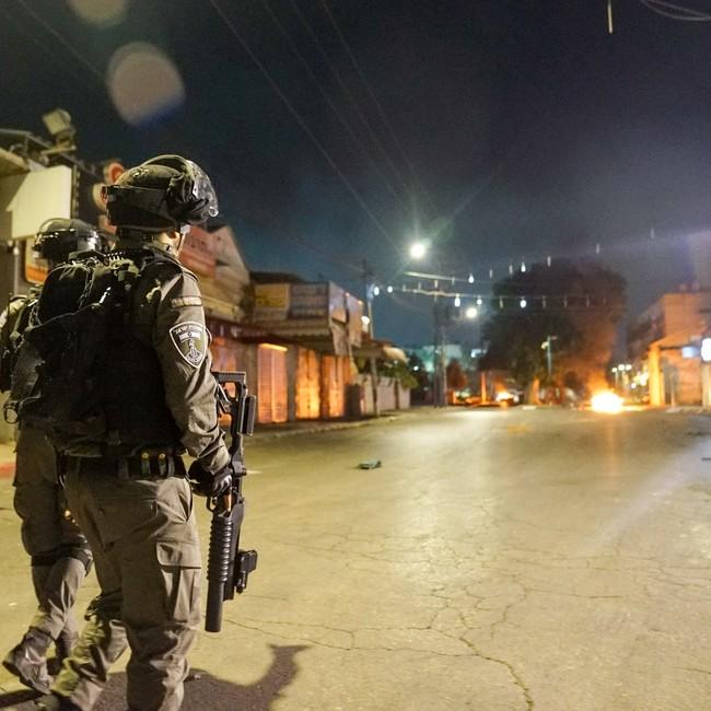 Grenzpolizisten in Lod