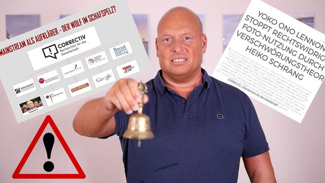 ERNEUT: Weltstar verklagt Heiko Schrang!!