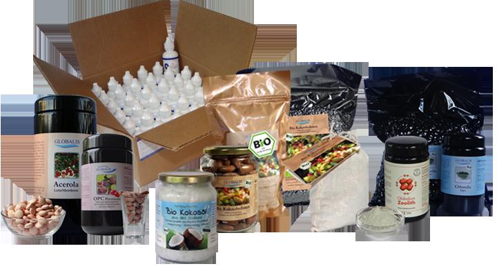 Globalis haltbare Lebensmittel für Notzeiten