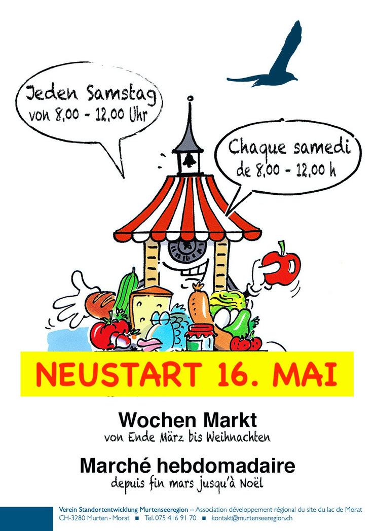 Wochenmarkt Murten