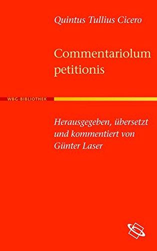 Buchtitel: Commentariolum petitionis von Quintus Tullius Cicero