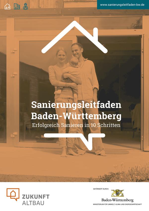 Das Bild zeigt die Titelseite des Sanierungsleitfadens / Quelle: Zukunft Altbau